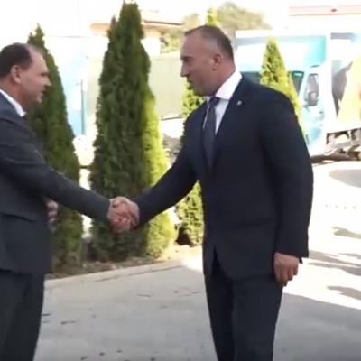 """Haradinaj vlerëson kontributin e kompanisë """"Frutex"""" për zhvillimin ekonomik të vendit"""